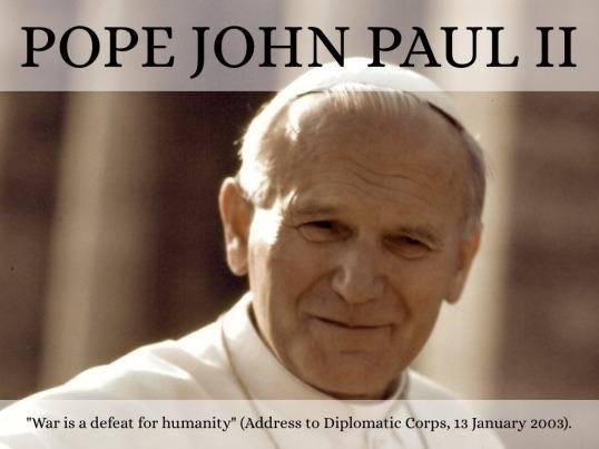 Pope Jean Paul II Quote