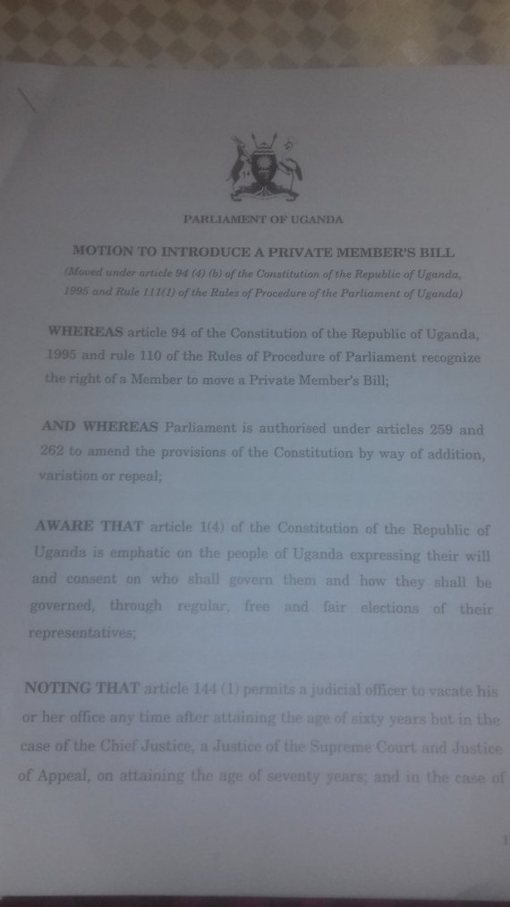 Private Members Bill Aug 2016 UG P1