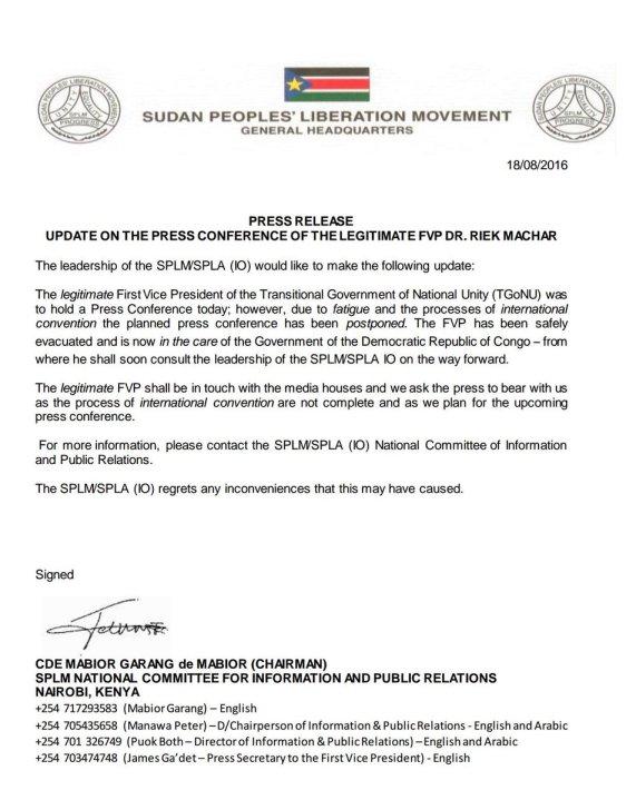 SPLM-IO 18.08.2016