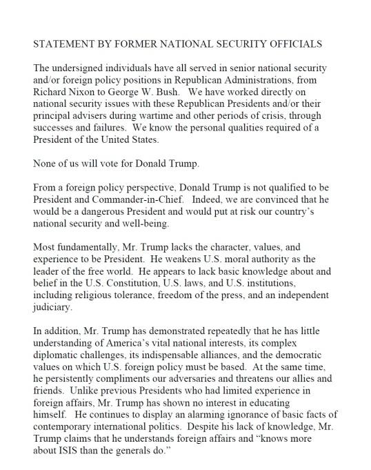Trump Security Letter August 2016 P1