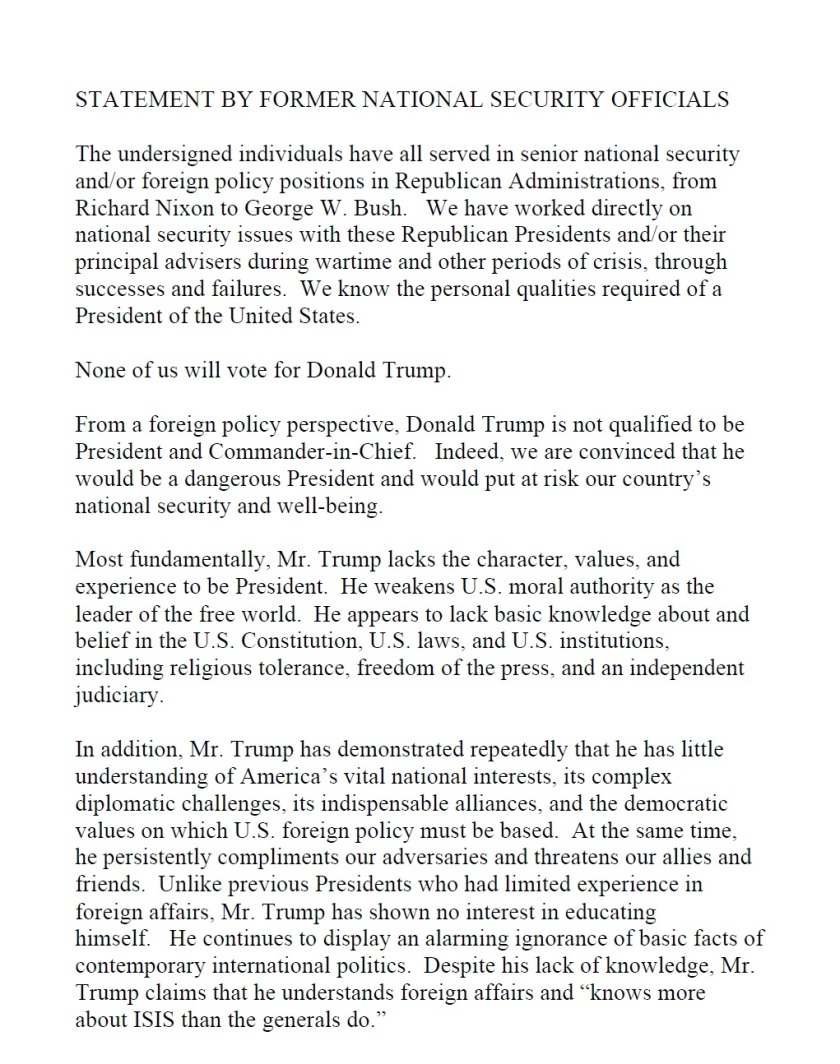 Trump Security Letter August 2016 P1