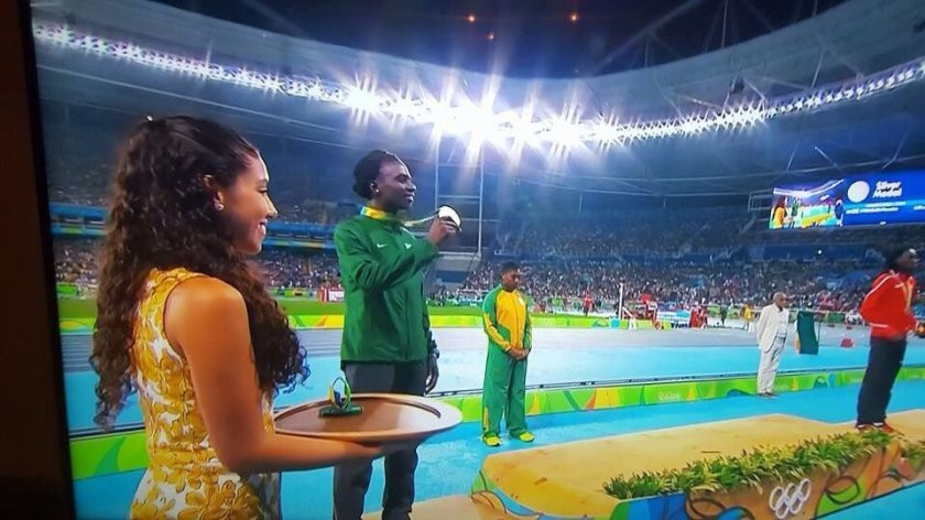 Francine Niyonsaba - Silver Medal Rio Olympics 2016