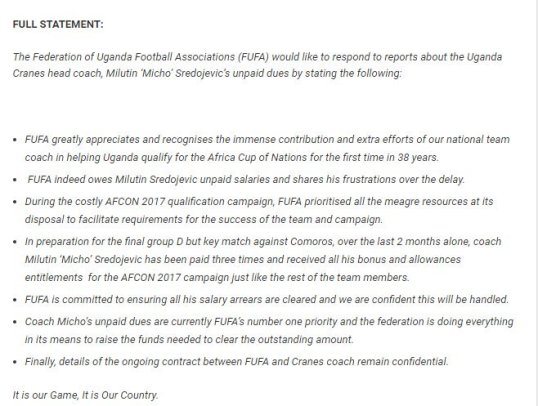fufa-statement
