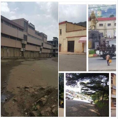 Gondar/Gonder in 19th September 2016