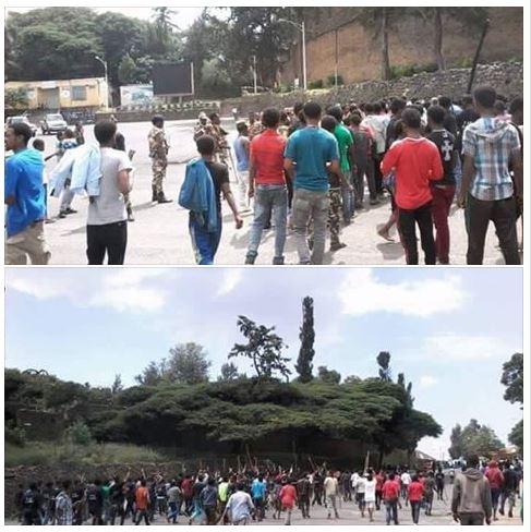 Gonder/Gondar on the 27th September 2016