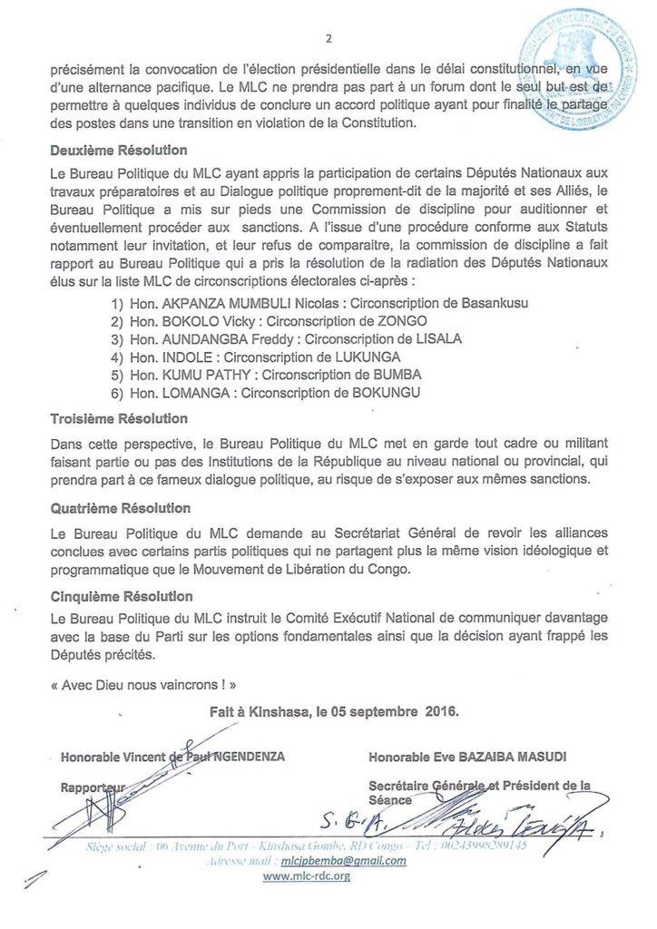 RDC MLC 05.09.2016 P2