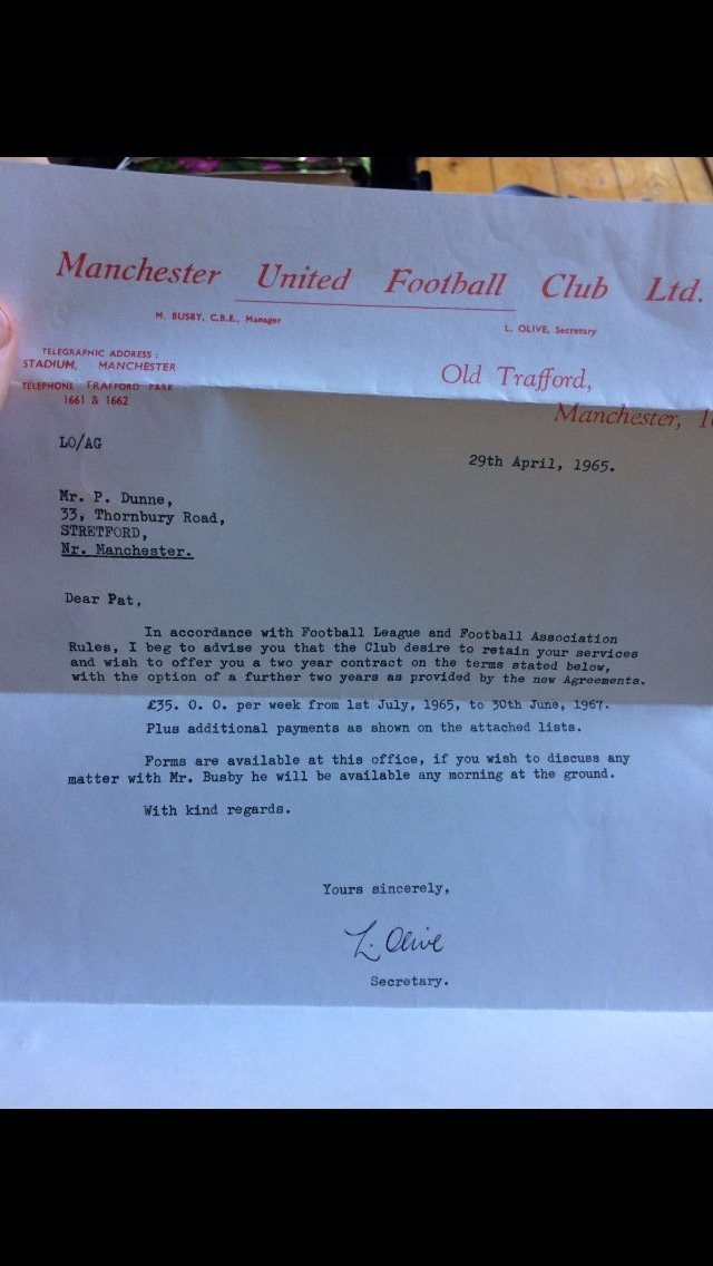 man-united-contract-of-1965