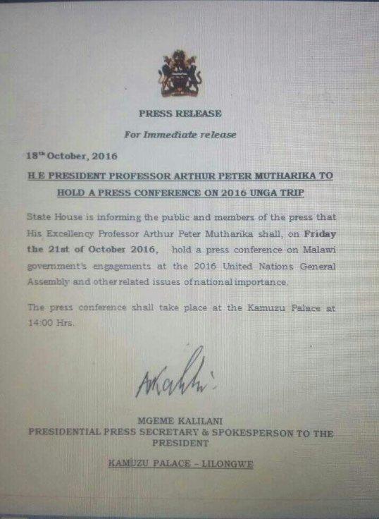 mutharika-presser-18-10-2016