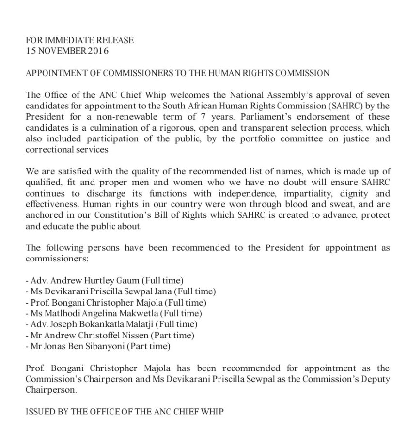 appoint-hrc-rsa-15-11-2016
