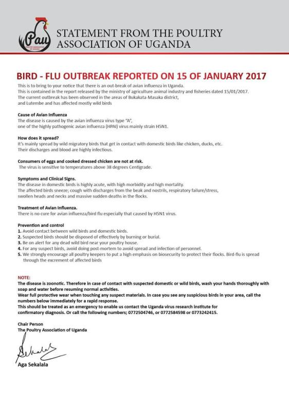 bird-flu-statement-ug-2017