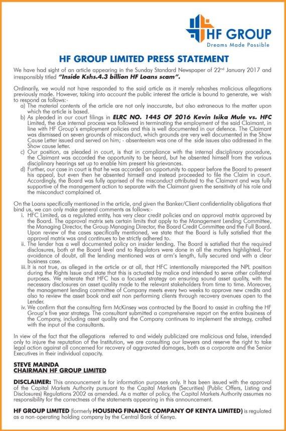 hf-group-24-01-2016-statement