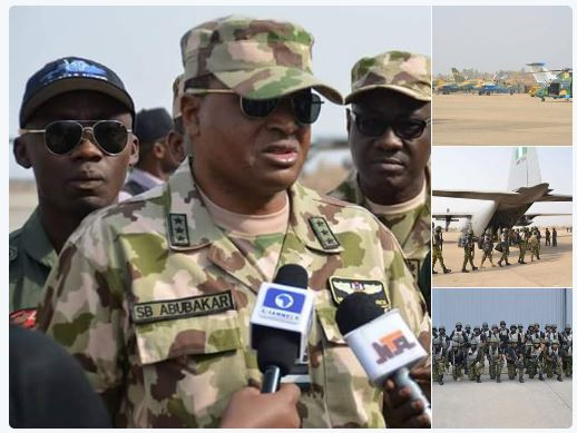 Nigerian Army in Senegal 18.01.2017