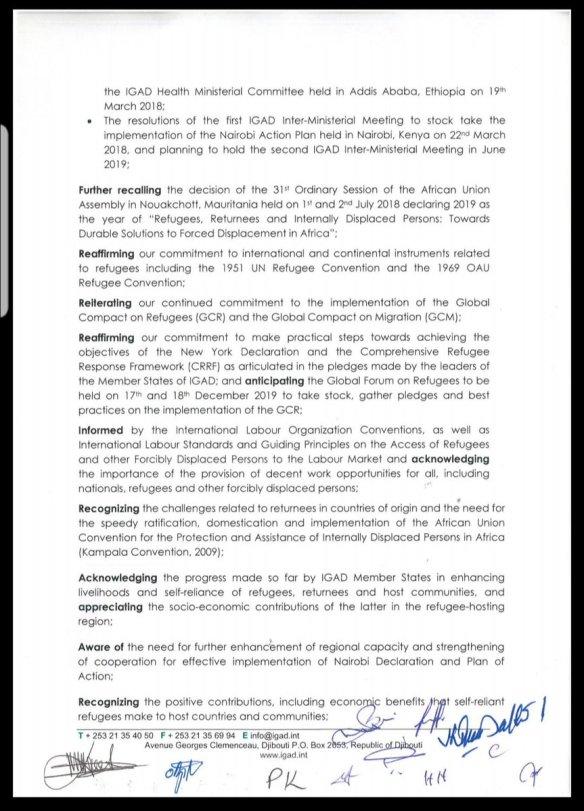 IGAD: Kampala Declaration on Jobs, Livelihoods and Self
