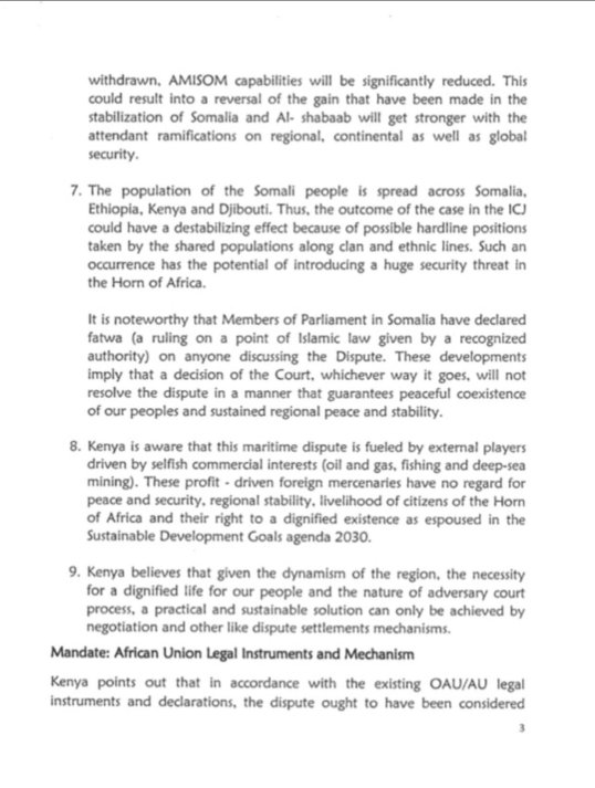 Kenya Statement to the Peace and Security Council Session on